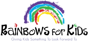 for new website- 515 rainbows4kids good logo