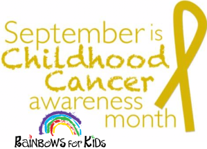 Sept. Childhood Cancer awareness month