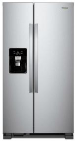 Fridge whirlpool refrigerator, WRS555SDFZ.png