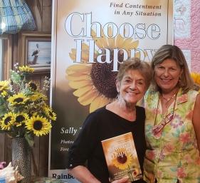 Jan Orlando with Sally Choose Happy